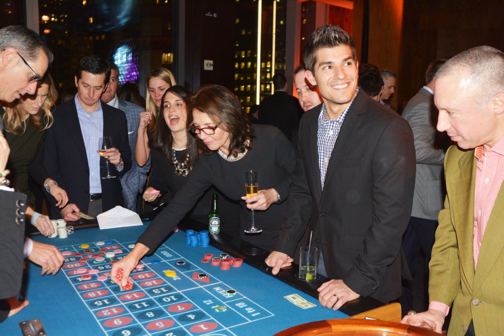 roulette table rental