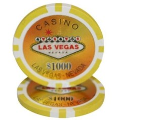 casino chip table rental