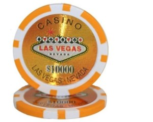 casino chip table rental