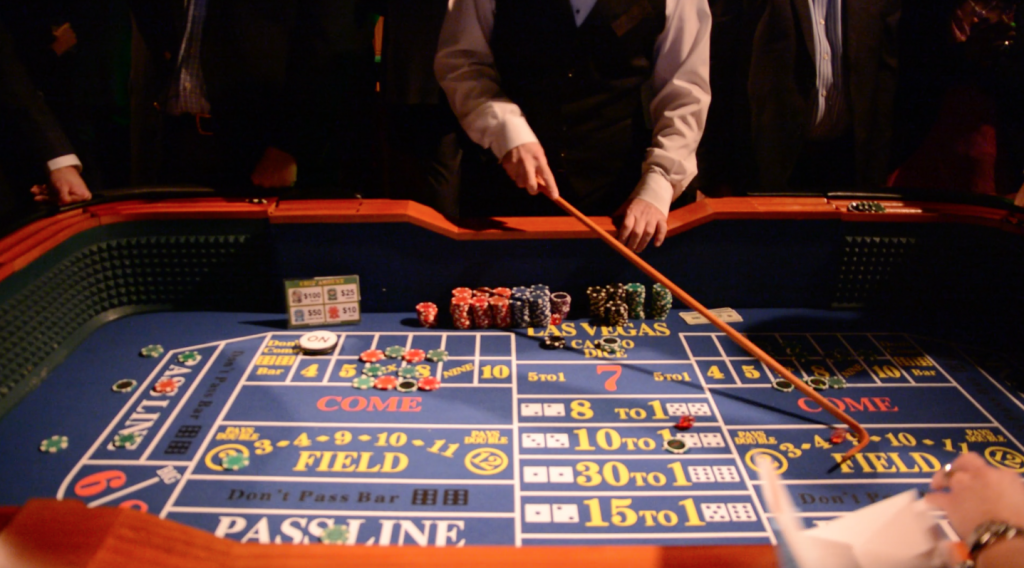 craps table rental