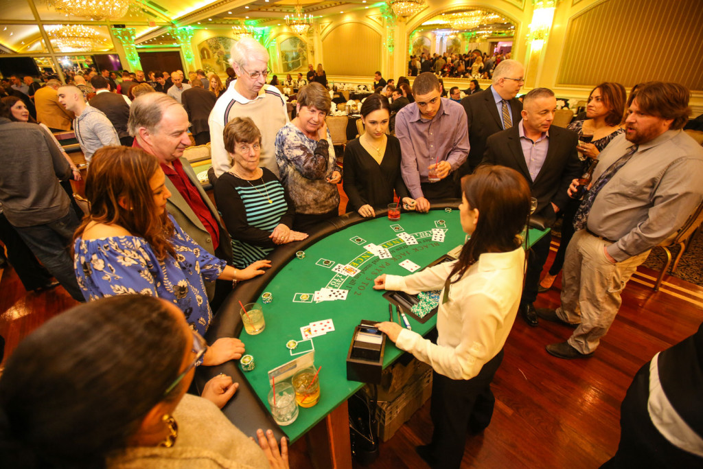 black jack table rental