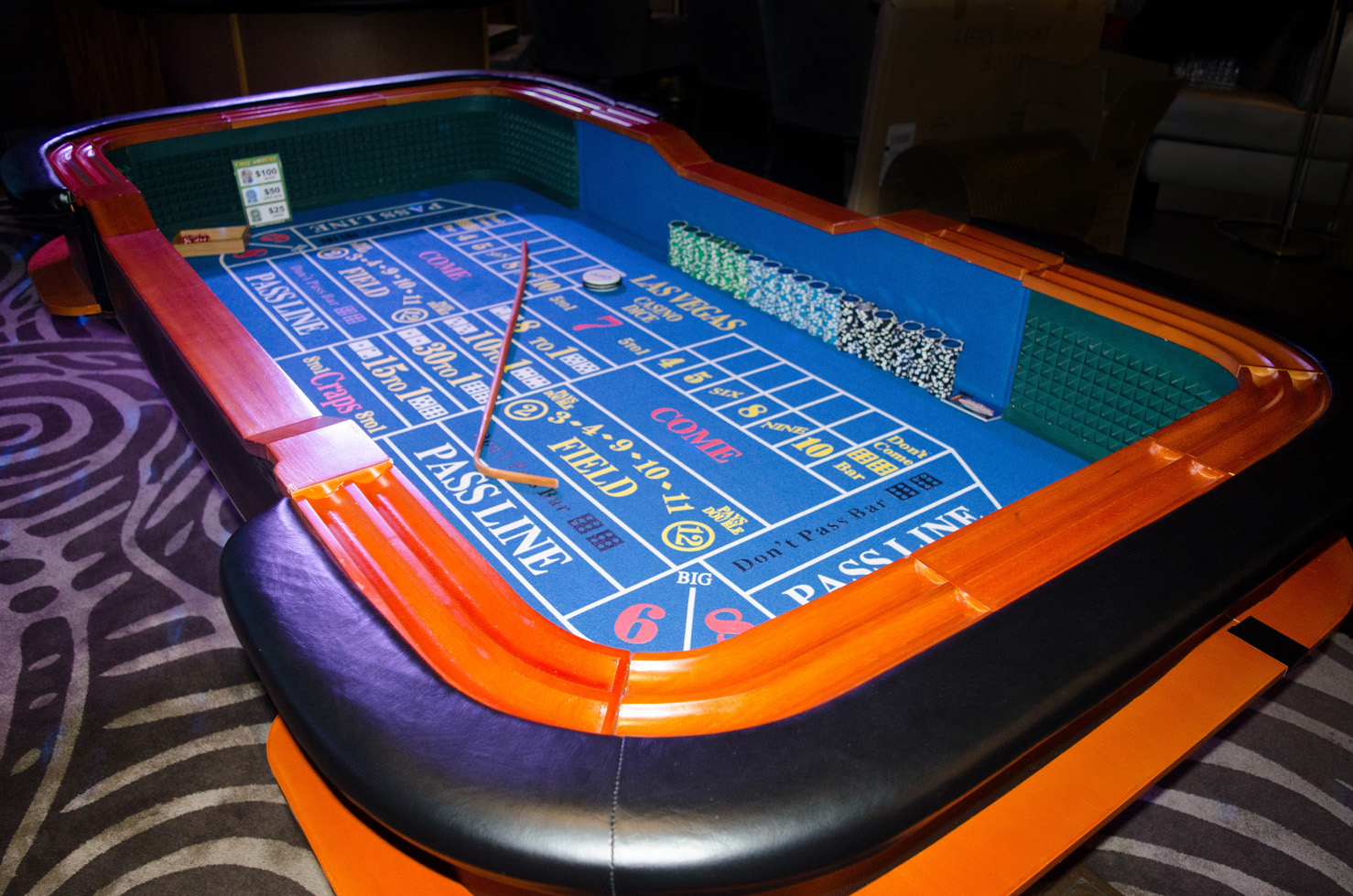 casino table rentals
